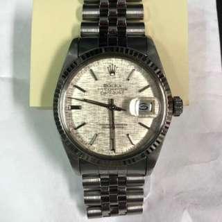 Rolex Datejust 16014 Linen Dial