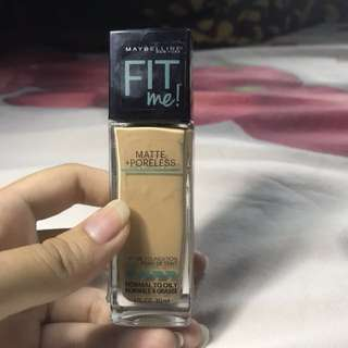 Maybelline Fit Me Matte + Poreless Reprice