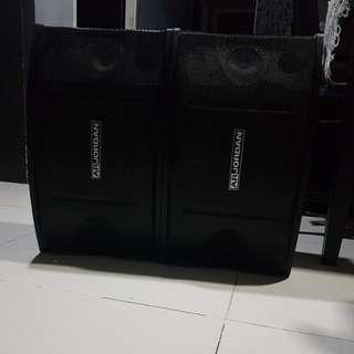 10 inch ar jordan home entertainment/karaoke speakers