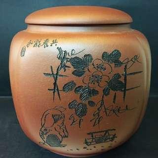 手工紫砂茶壺罐(13cm)