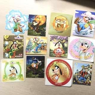 迪士尼貼紙 Disneyland stickers