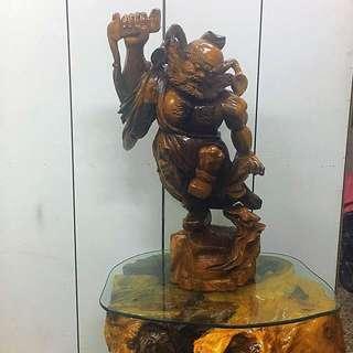 木雕-鐘馗