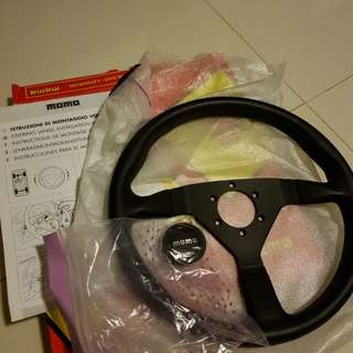 *Authentic* Momo Monte Carlo Steering Wheel