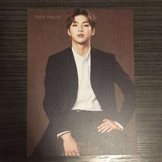 Wanna one Daniel Think Nature photocard