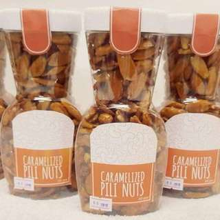 CARAMELIZED PILI NUTS