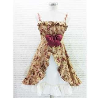 日系古著lolita裙