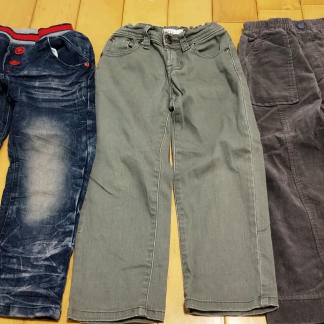 男童冬季長褲三件只要150