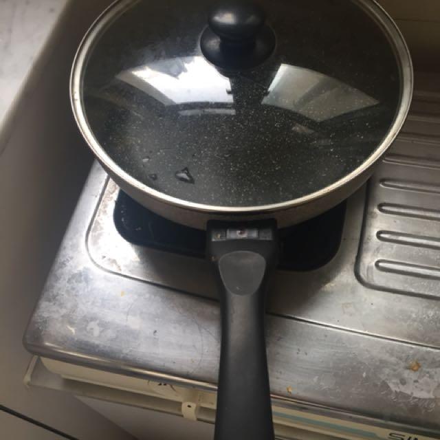 義大利平底鍋,不沾砂鍋表面,不含特福龍,健康環保. 原價HKD515.