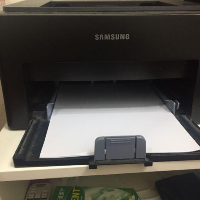 三星黑白雷射打印機 Samsung laser printer, black&white