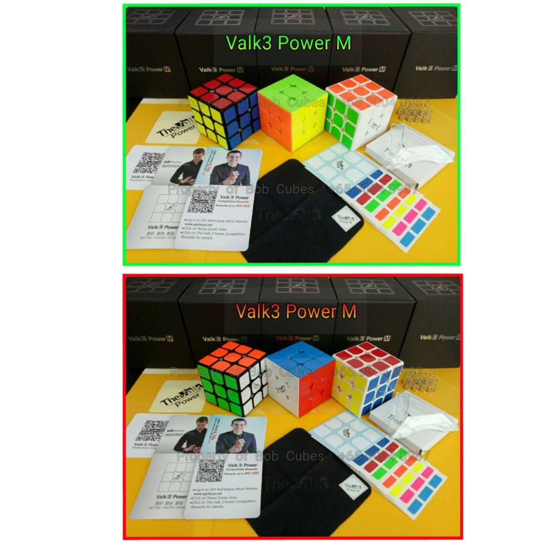 >> Valk3 Power M 3x3 (Magnetic)  ( Valk 3 Power M ) for sale in Singapore - Brand New Speedcube