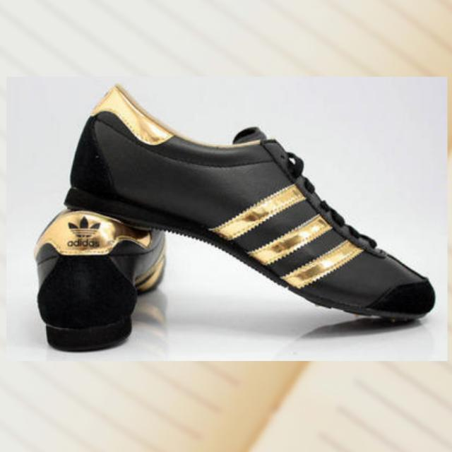 adidas model like aditrack black gold