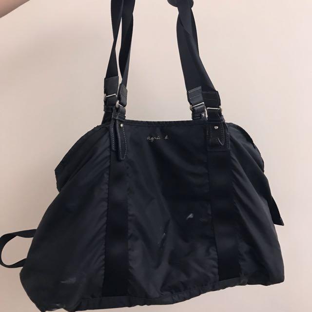 Agnes b 經典款 旅行袋 #幫你省運費