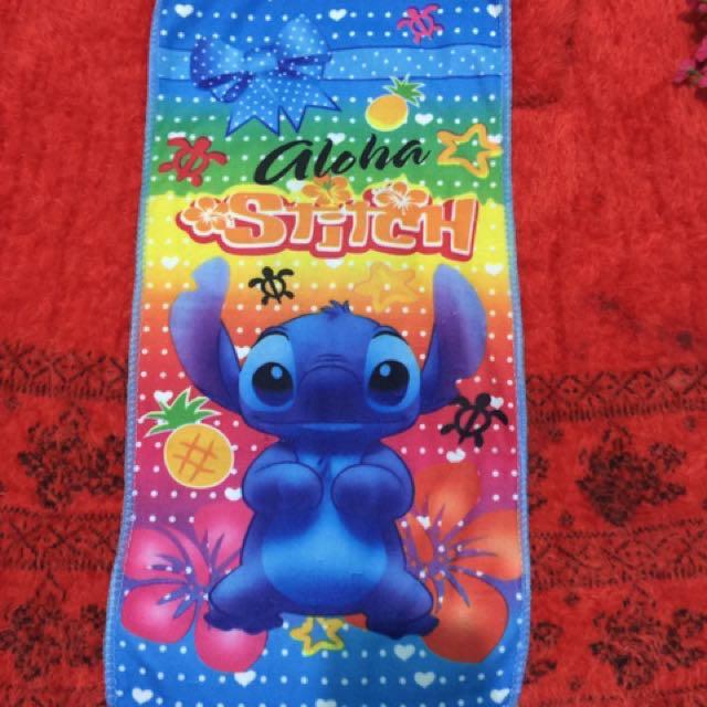 Aloha Stitch Microfiber Hand Towel