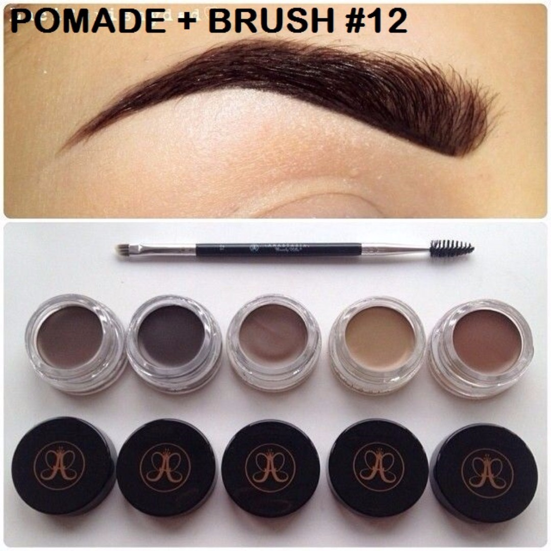 Anastasia Beverly Hills DIP BROW POMADE + BRUSH $59 COMBO Brand New & Authentic (NO OFFERS)