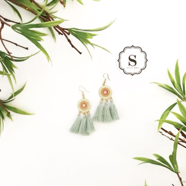Anne Tassel Earrings