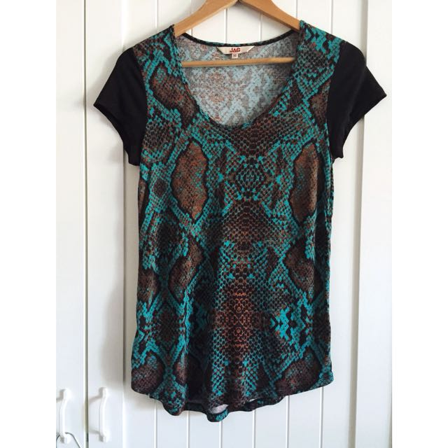 *as NEW* JAG Tee Top Size XS