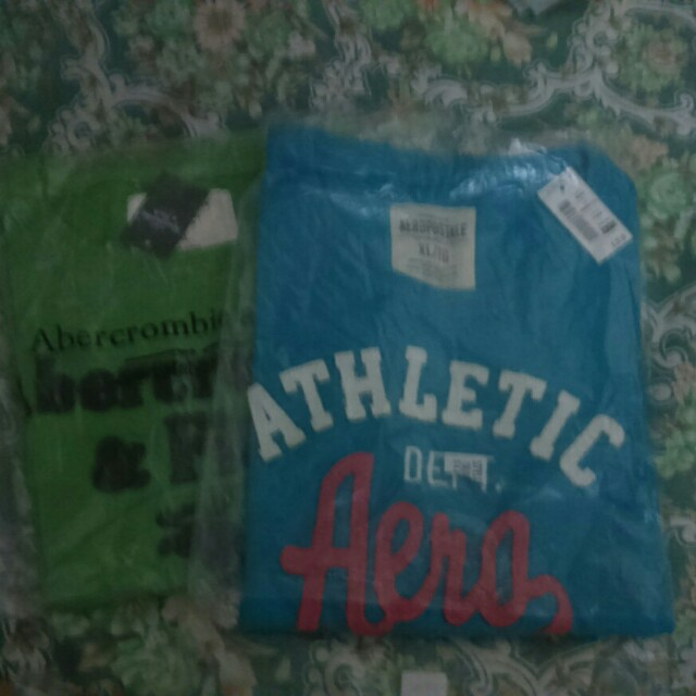 AUTHENTIC Abercrombi & Aéropostale (buy1take1)