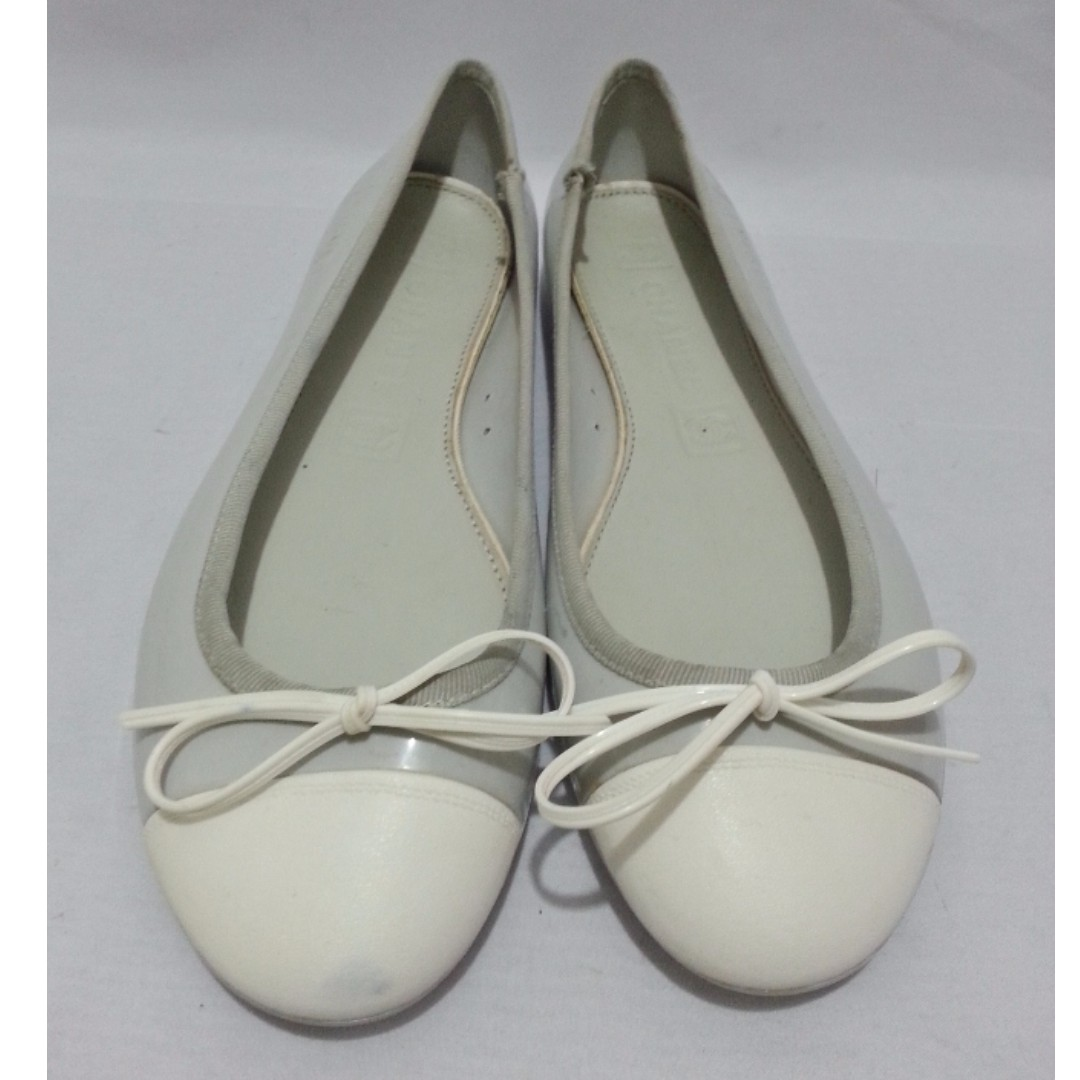 Authentic CHANEL Jelly Dollshoes Size 39