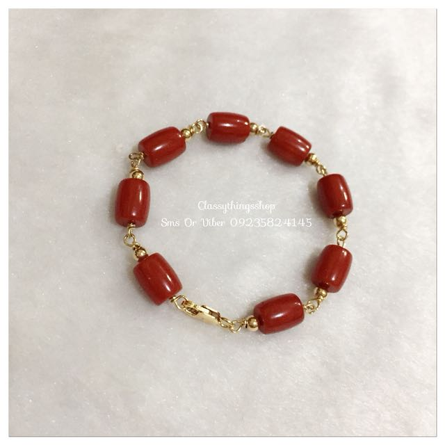 Authentic Red Coral Bracelet