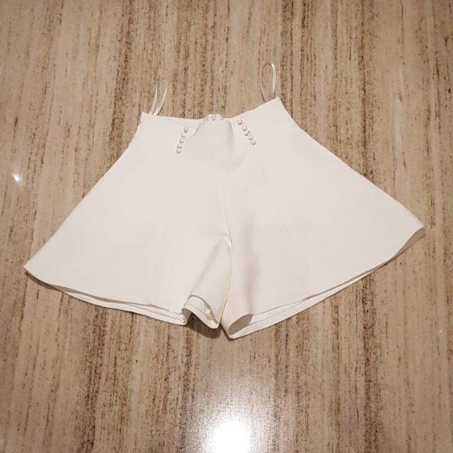 Balenciaga white skort