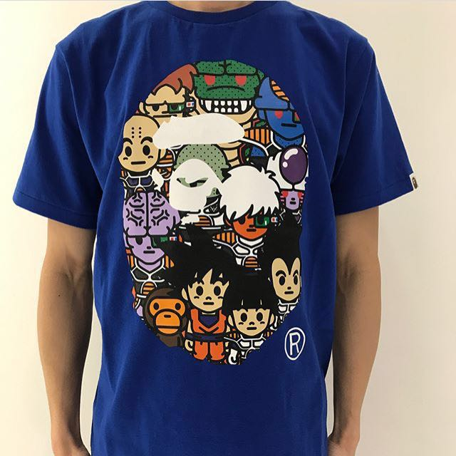 fa61df94 BAPE X DRAGON BALL Z TEE #8, Men's Fashion, Clothes on Carousell
