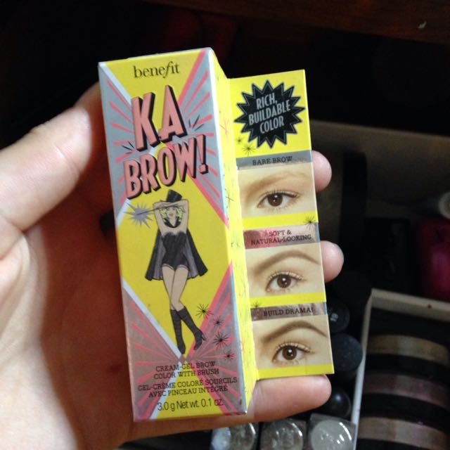 Benefit brow pomade