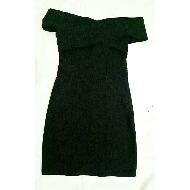 Black Sabrina Dress