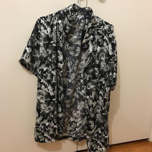 boohooMan XL party shirt