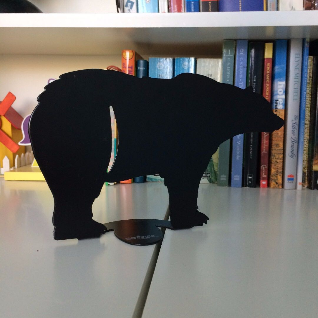 Bookends - octopus and bear