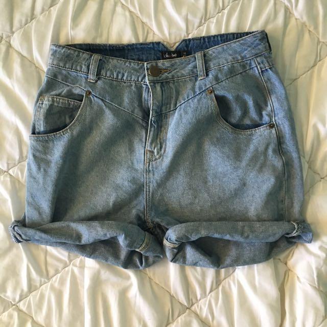 Boyfriend shorts size 10