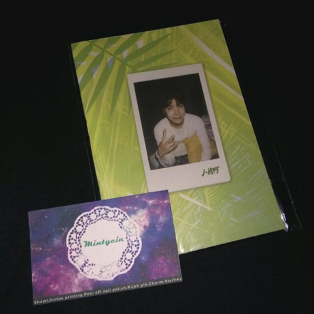 Bts Jhope selfie book duplicate
