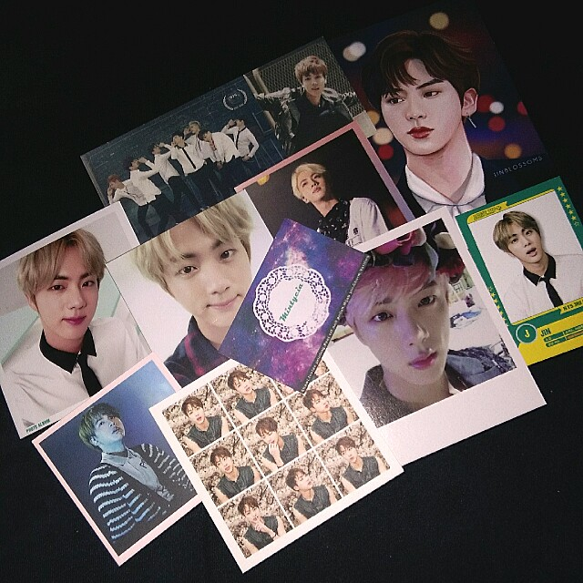 Bts Jin Official and duplicate pc