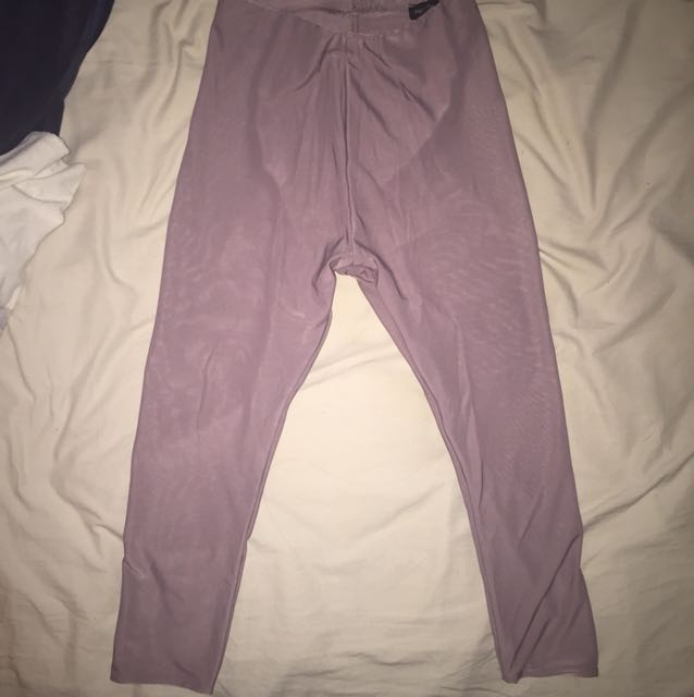 Camel high waisted 3/4 legging pants