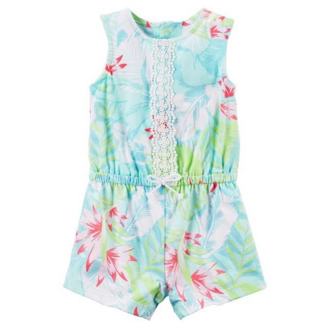Carter's Baby Girls rompers