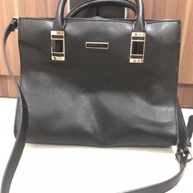 Charles&Keith Black Bag