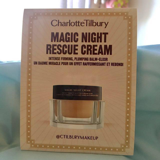 Charlotte Tilbury Magic Night Rescue Cream (Sample)