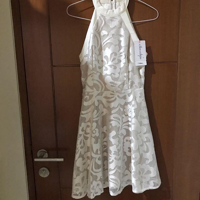 Chocochips white dress