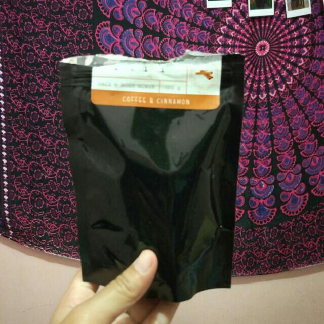 Coffee Cinnamon Scrub