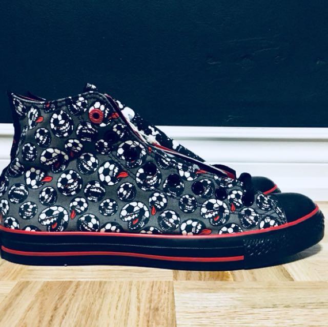 Converse One, Make Me Red Chuck Taylor's. RARE AND UNIQUE Men size 10