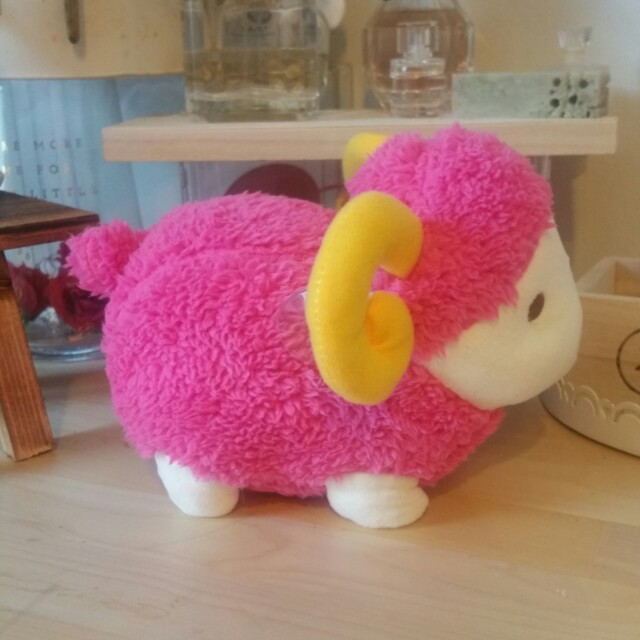 Cute sheep plush