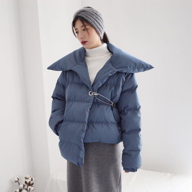 Dec.iwhere 現貨 預購 大翻領 休閒 保暖 韓國 外套