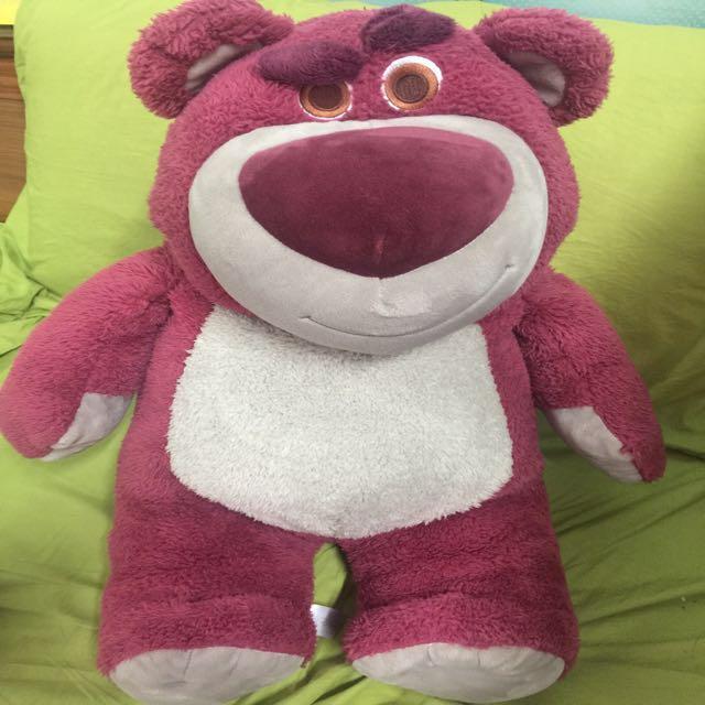 Disney Store Toy Story Huggin Bear 玩具總動員 熊抱哥 12吋布偶公仔