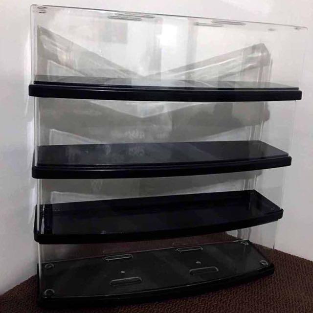 Display case 4 pieces