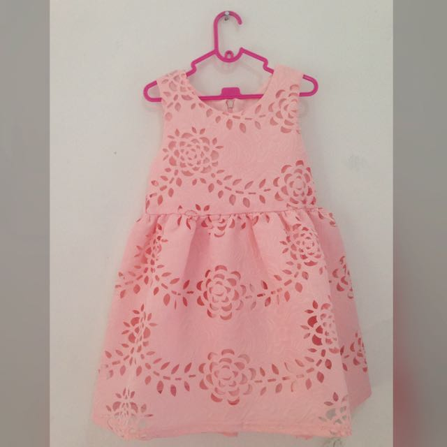 Dress anak dress import
