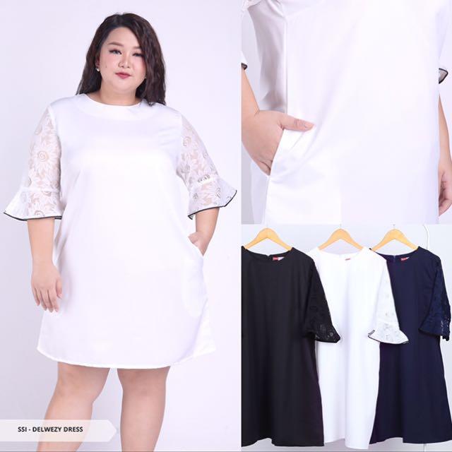 Dress big size /XXL/ Black dress/jumbo size