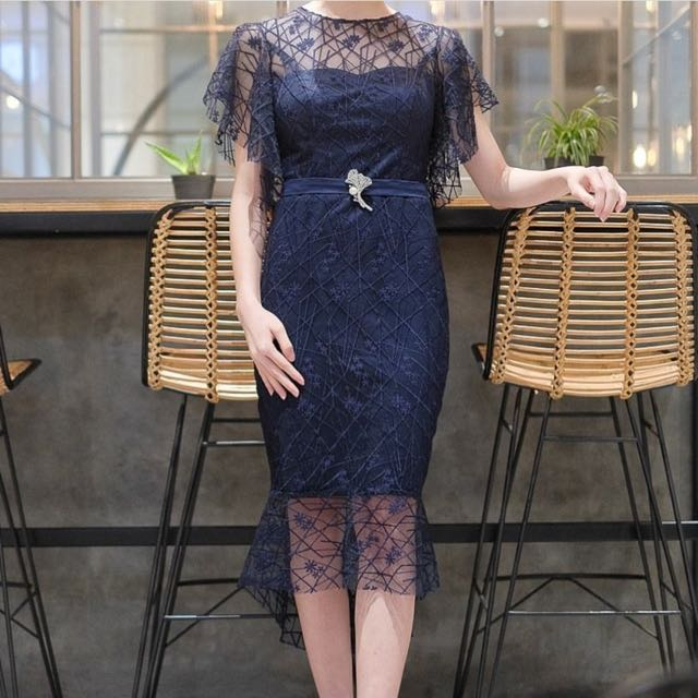 Dress royale collier navy