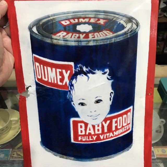 Dumex Tin Sign