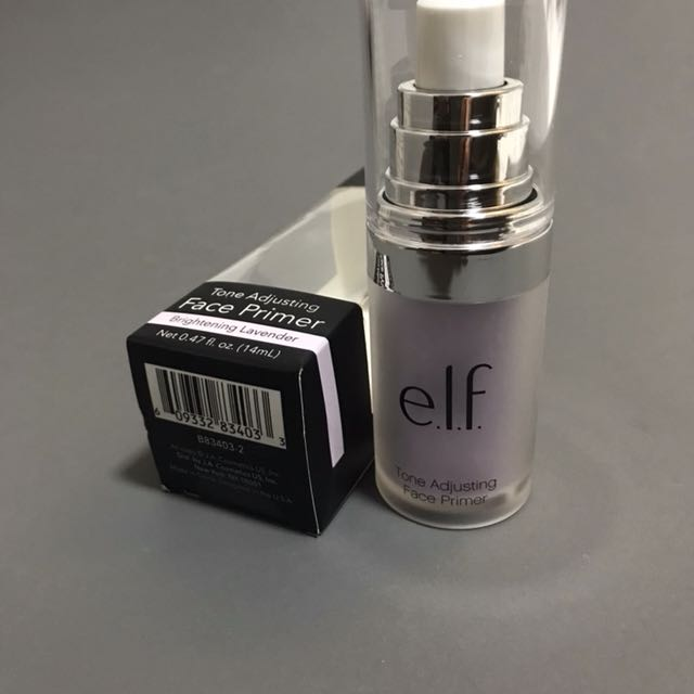 ELF Tone Adjusting Face Primer Brightening Lavander