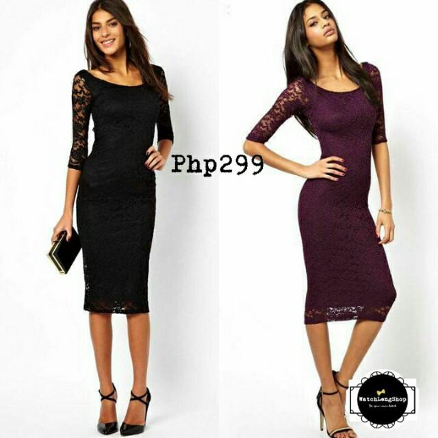 💋Embroidered Lace Elegant Dress