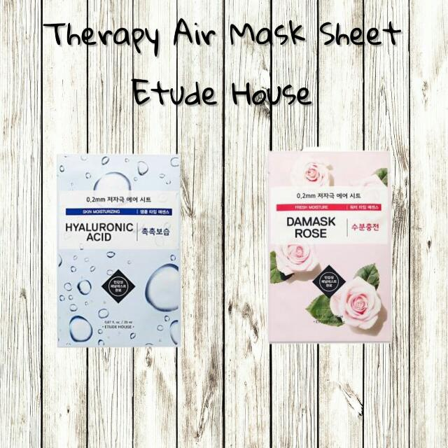 Etude House Therapy Air Sheet Mask